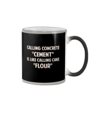 LIMITED CONCRETE FINISHER SHIRT Color Changing Mug thumbnail