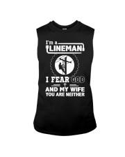 I'm a Lineman i fear god Sleeveless Tee thumbnail