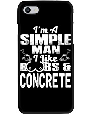 I Like Boobs And Concrete Phone Case tile