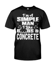 I Like Boobs And Concrete Classic T-Shirt thumbnail