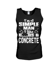 I Like Boobs And Concrete Unisex Tank tile