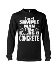 I Like Boobs And Concrete Long Sleeve Tee tile