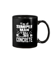 I Like Boobs And Concrete Mug thumbnail