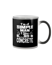 I Like Boobs And Concrete Color Changing Mug tile