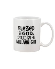 Blessed By God Spoiled by My Millwright Mug tile