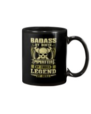 Badass By Birth Pipefitter By Choice Legend  Mug thumbnail
