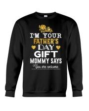 I'm your father day gift  Crewneck Sweatshirt thumbnail