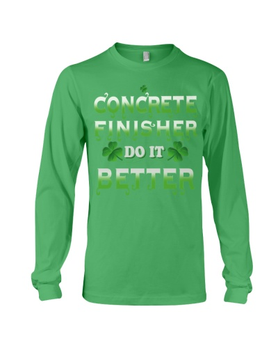 LIMITED CONCRETE FINISHER SHIRT