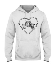 Save them with kindness Hooded Sweatshirt thumbnail