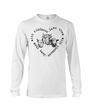 Save them with kindness Long Sleeve Tee thumbnail