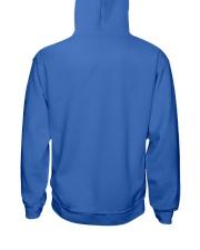 Proud Linewife my husband my hero Hooded Sweatshirt back