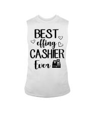 Best Effing Cashier Ever Sleeveless Tee thumbnail