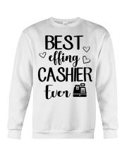 Best Effing Cashier Ever Crewneck Sweatshirt thumbnail