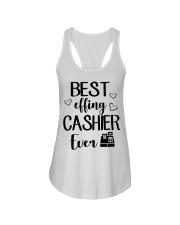 Best Effing Cashier Ever Ladies Flowy Tank thumbnail