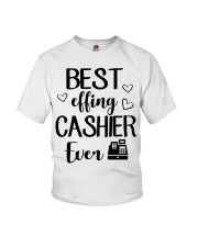 Best Effing Cashier Ever Youth T-Shirt thumbnail