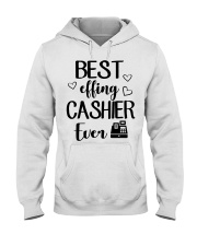 Best Effing Cashier Ever Hooded Sweatshirt thumbnail