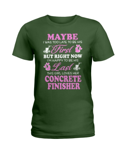 This Girl Lover Her Concrete Finisher