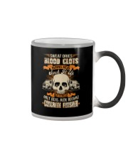 Sweat Dries Blood Clots Burns Heal Suck It Up Color Changing Mug tile