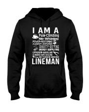I Am A Lineman Hooded Sweatshirt front