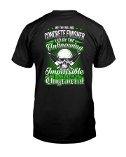 We the willing Concrete Finisher led  Classic T-Shirt thumbnail
