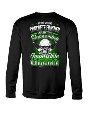 We the willing Concrete Finisher led  Crewneck Sweatshirt thumbnail