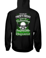 We the willing Concrete Finisher led  Hooded Sweatshirt tile