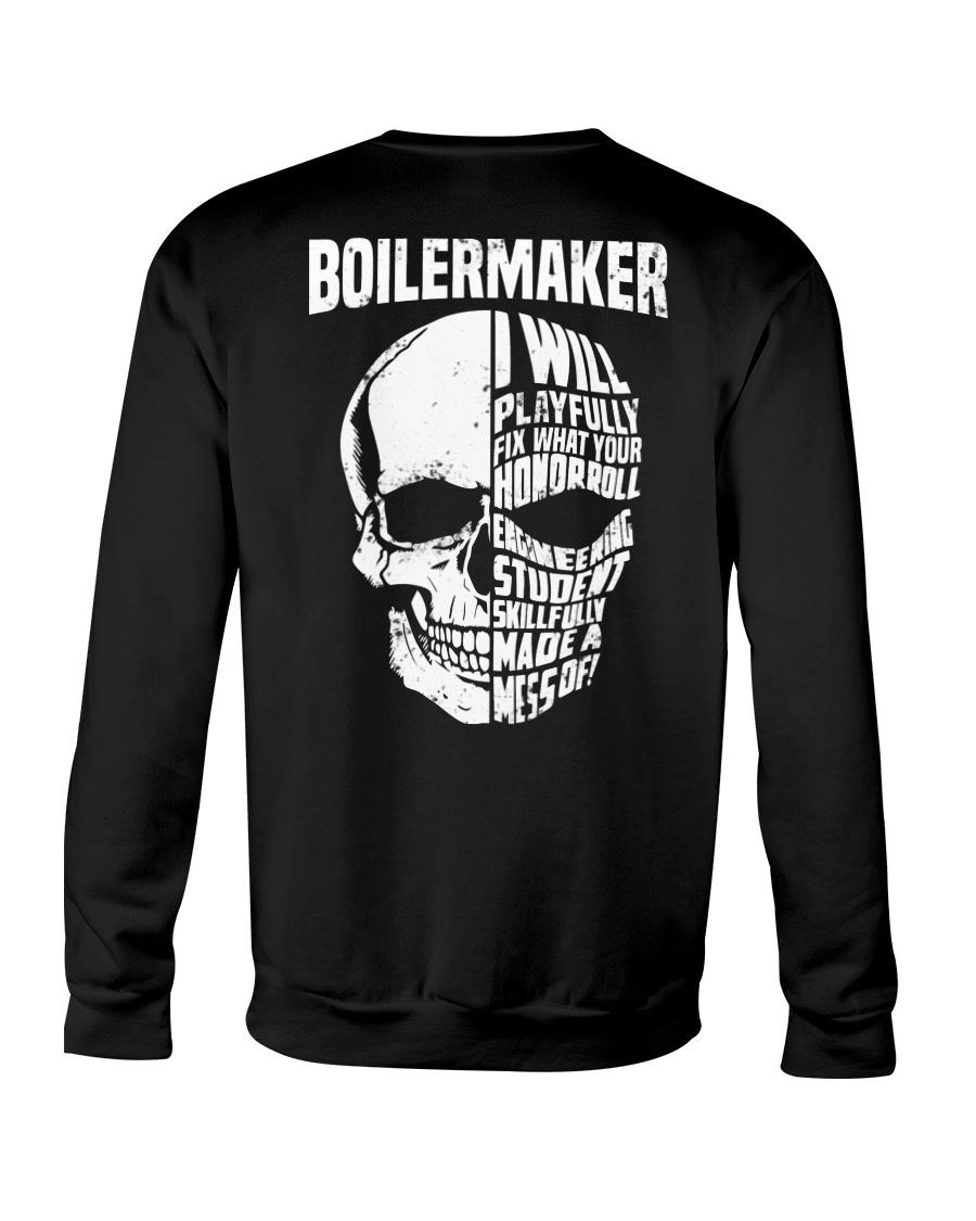 Boilermaker Skull Crewneck Sweatshirt