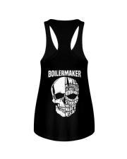 Boilermaker Skull Ladies Flowy Tank thumbnail