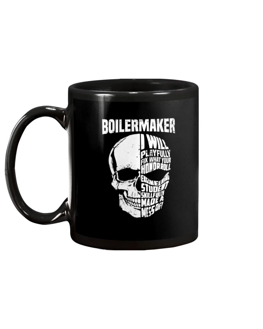 Boilermaker Skull Mug