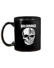Boilermaker Skull Mug back