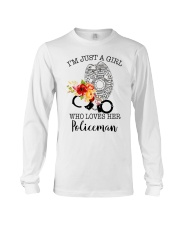 I'm just a girl who loves her policeman Long Sleeve Tee thumbnail