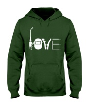 Love Hooded Sweatshirt front