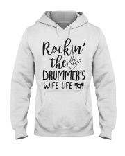 Rockin' the Drummer's Wife life Hooded Sweatshirt thumbnail