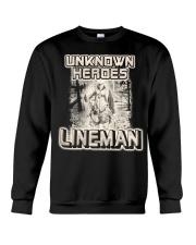 Unknown heroes Lineman Crewneck Sweatshirt thumbnail