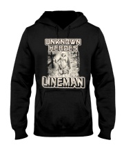 Unknown heroes Lineman Hooded Sweatshirt front