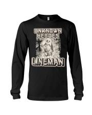 Unknown heroes Lineman Long Sleeve Tee thumbnail