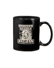 Unknown heroes Lineman Mug thumbnail