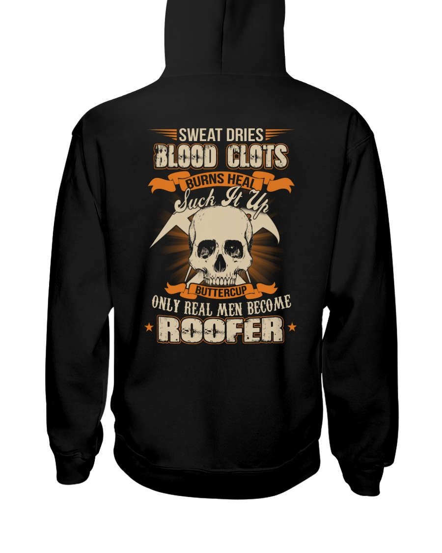 Sweat Dries Blood Clots Burns Heal Suck It Up Hooded Sweatshirt