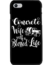 Concrete Wife With a Blessed Life Phone Case thumbnail