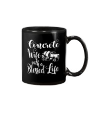 Concrete Wife With a Blessed Life Mug thumbnail