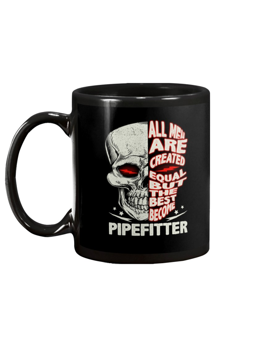 Pipefitter All Men Are Created Equal Mug
