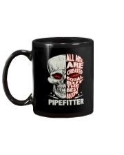 Pipefitter All Men Are Created Equal Mug back