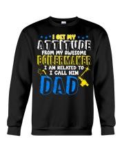 I get my Attitude from Boilermaker 2020 Crewneck Sweatshirt thumbnail