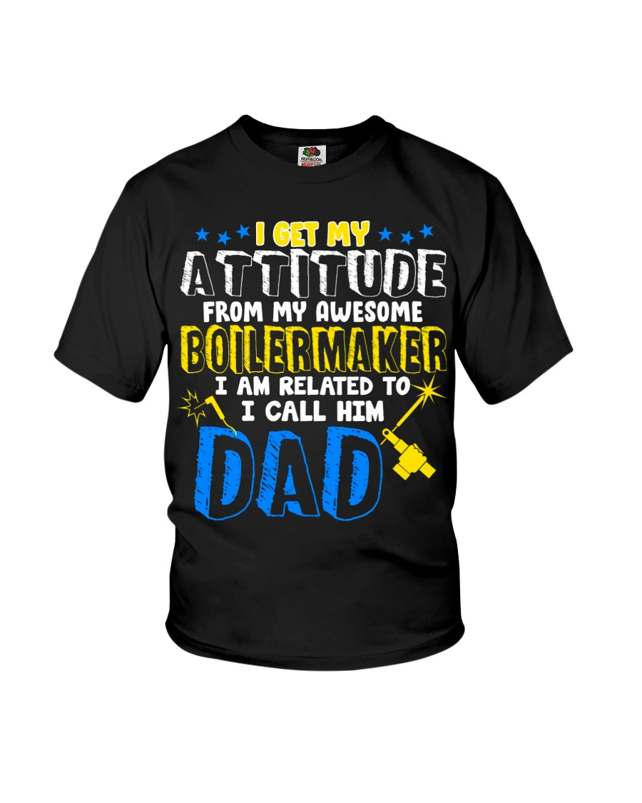 I get my Attitude from Boilermaker 2020 Youth T-Shirt