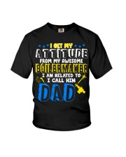 I get my Attitude from Boilermaker 2020 Youth T-Shirt front
