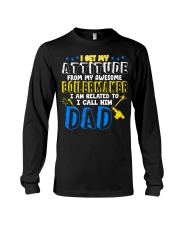 I get my Attitude from Boilermaker 2020 Long Sleeve Tee thumbnail