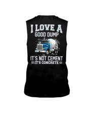 I Love A Good Dump It's Not Cement It's Concrete Sleeveless Tee tile
