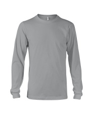 I Love A Good Dump It's Not Cement It's Concrete Long Sleeve Tee front