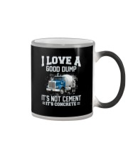 I Love A Good Dump It's Not Cement It's Concrete Color Changing Mug thumbnail