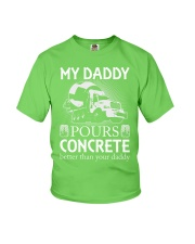 LIMITED CONCRETE FINISHER SHIRT Youth T-Shirt front